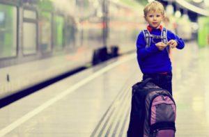 діти подорожують