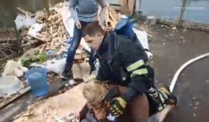 врятували жінок з пожежі