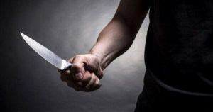 напад з ножем