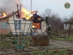 пожежа Прохорівка